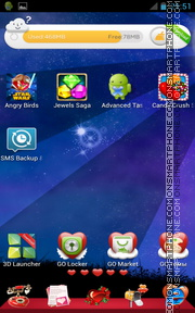 Love Icons 01 tema screenshot