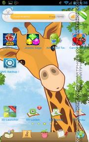 Happy Encounter tema screenshot
