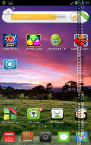 MIOS tema screenshot