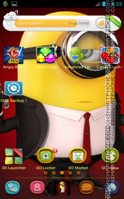 Minionn theme screenshot