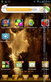Lion 38 tema screenshot