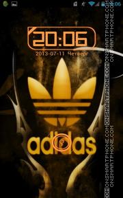 Adidas Gold 01 theme screenshot