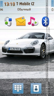 Porsche 911 Turbo S theme screenshot