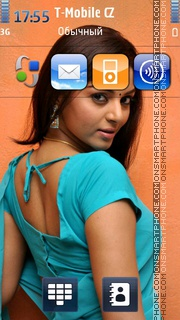 Sanam theme screenshot