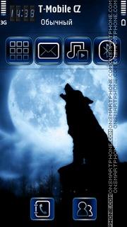 Скриншот темы Lone Wolf 01