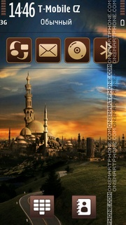 Mosque 02 tema screenshot