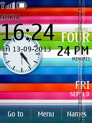 Vivid Rainbow tema screenshot