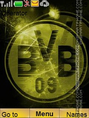 Borussiadortmund theme screenshot