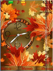 Autumn Leaves tema screenshot