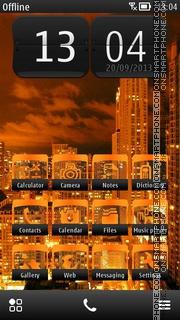 City Nights theme screenshot