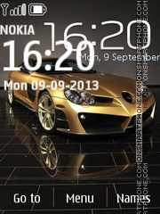Mercedes 3264 theme screenshot