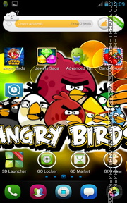 Angry Birds 2028 theme screenshot