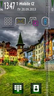 Скриншот темы Colour Houses