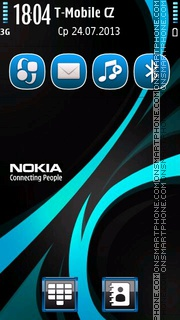 Rays Nokia tema screenshot