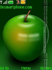Green Apple theme screenshot