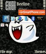 Capture d'écran Boo thème