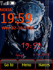 Predator theme screenshot