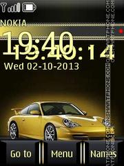 Скриншот темы Yellow Car