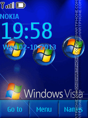 Vista Mobile theme screenshot