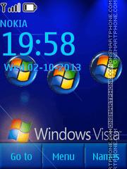 Vista Mobile Theme-Screenshot