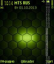 Honeycomb es el tema de pantalla