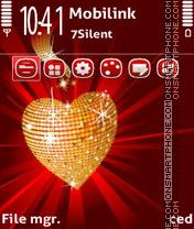 Glamorous heart adam11 es el tema de pantalla