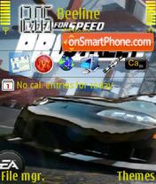 NFS PS theme screenshot