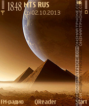 Pyramids2 theme screenshot