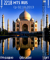 Taj-Mahal Theme-Screenshot