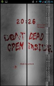 Dead Inside theme screenshot