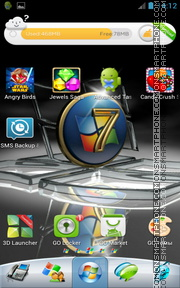 Window 7 02 Theme-Screenshot
