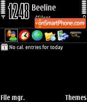 Black 02 theme screenshot