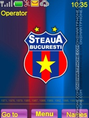 Steaua Bucuresti es el tema de pantalla