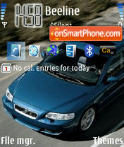 Volvo S60 theme screenshot