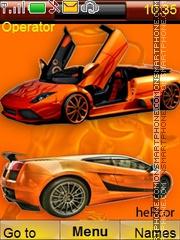 Скриншот темы Cars2