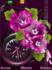 Скриншот темы Flowers