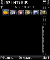 Q-Black theme screenshot