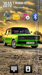 Lada 7 theme screenshot