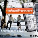 Aftys Nokia 6230i es el tema de pantalla