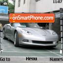 2005 Corvette C6 01 es el tema de pantalla