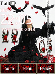 Gothic filosofie Theme-Screenshot