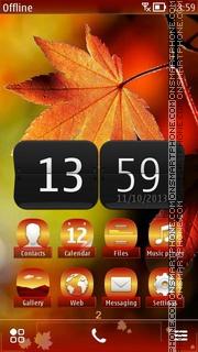 Autumn 04 theme screenshot