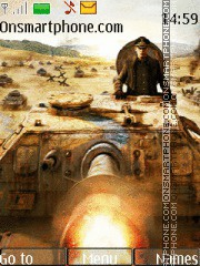 Скриншот темы World of Tanks