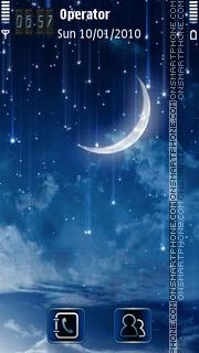 Blue Dream tema screenshot