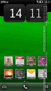 GreenTheme theme screenshot