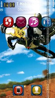 Motocross HD tema screenshot