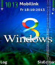 Window8 theme screenshot