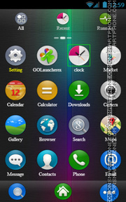 G_Colours theme screenshot