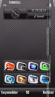 Texture v8 theme screenshot