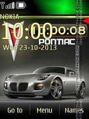 Pontiac theme screenshot